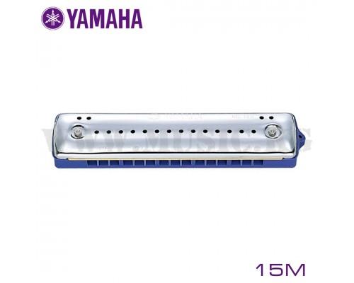 Yamaha 15M Гармошка губ. (зеленая усоверш.)