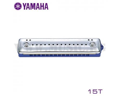 Yamaha 15T Гармошка губ. (синяя)