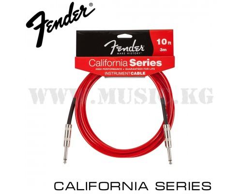 Инструментальный кабель Fender Red (3м)