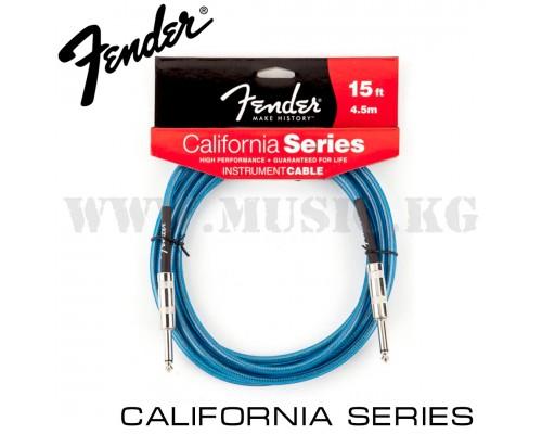 Инструментальный кабель Fender Blue (4.5м)