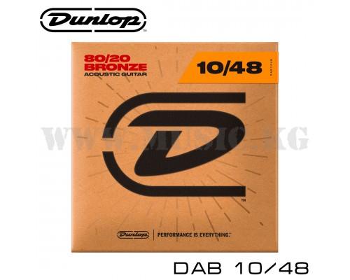 Струны для акустической гитары Dunlop DAB10/48