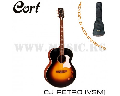 Электроакустическая гитара Cort CJ-RETROVSM