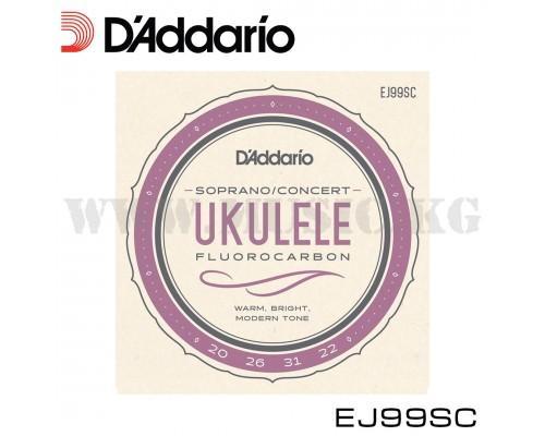 Струны для укулеле D'Addario EJ99SC