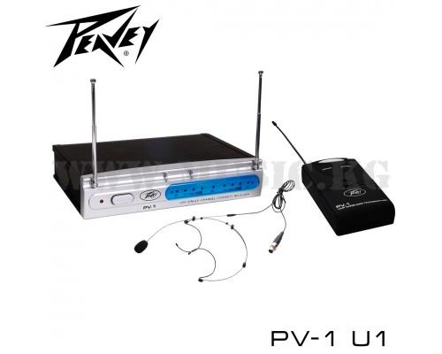 Радиосистема Peavey PV-1 U1 (головная гарнитура)