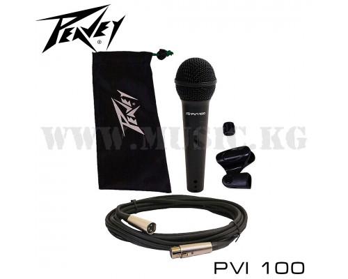 Динамический микрофон Peavey PVi 100 (XLR - JACK)