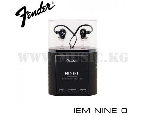 Наушники Fender IEM NINE 0 Black Metallic