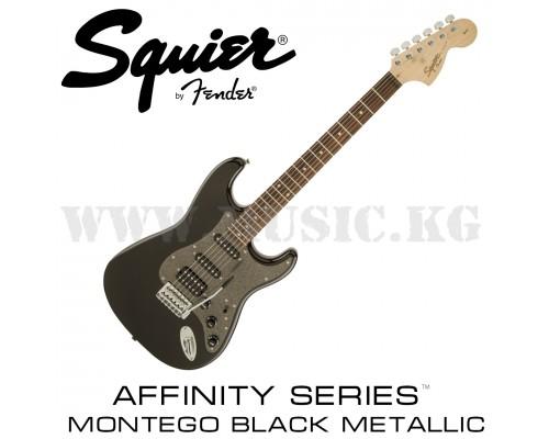 Электрогитара Fender Squier Affinity Series™ Stratocaster® HSS Montego Black Metallic