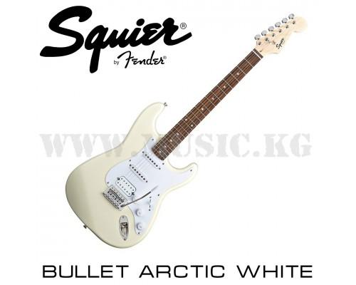 Электрогитара Squier Bullet Strat with Tremolo HSS Arctic White