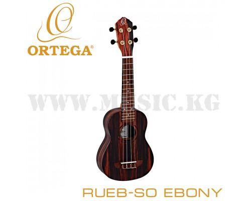 Укулеле сопрано Ortega RUEB-SO EBONY