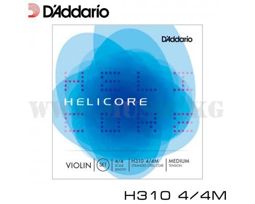 Струны для скрипки D'Addario Helicore H310 4/4M
