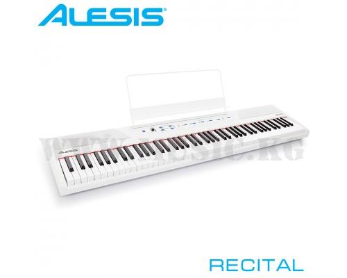 Цифровое фортепиано Alesis Recital White