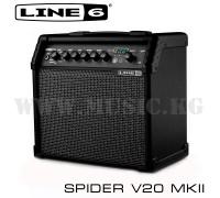 Комбоусилитель для электрогитары Line 6 Spider V20 MKII