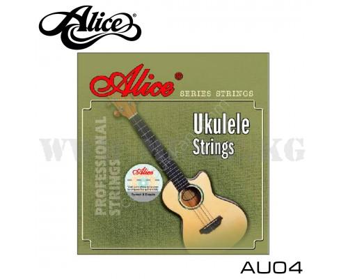Струны для укулеле сопрано Alice AU04