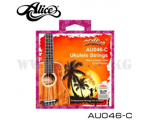 Струны для концертной укулеле Alice AU046-C