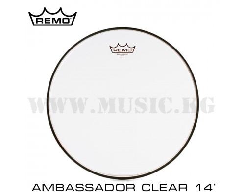 "Пластик для малого барабана Remo Ambassador Clear 14"""