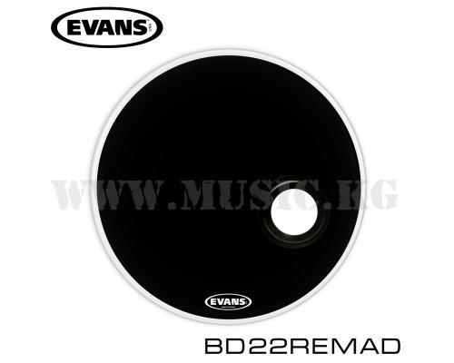 Резонаторный пластик для бас-барабана Evans BD22REMAD