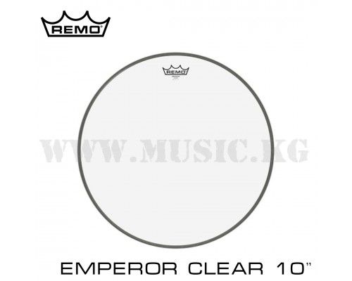 Пластик для тома Remo Emperor Clear Batter 10''
