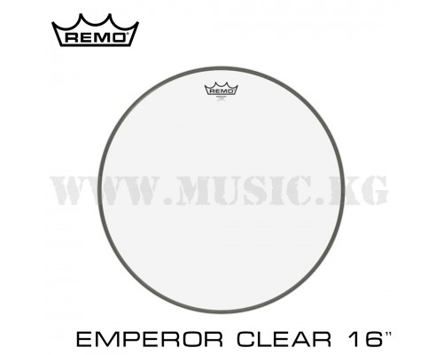 Пластик для тома Remo Emperor Clear Batter 16''