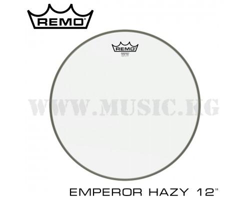 """Резонаторный пластик для барабана Remo 12"""" Emperor hazy"""