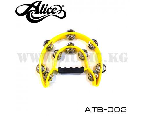 Тамбурин Alice ATB-002 Yellow