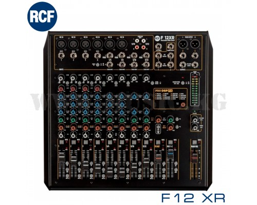 Микшерный пульт RCF F12 XR
