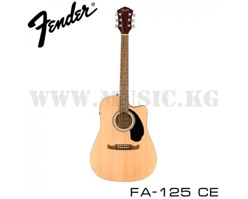 Электроакустика Fender FA-125CE Dread Natural