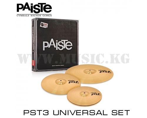 """Комплект тарелок Paiste 14/16/20"""" PST3 Universal Set"""