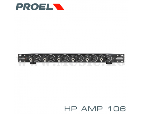 Усилитель для наушников Proel HPAMP 106