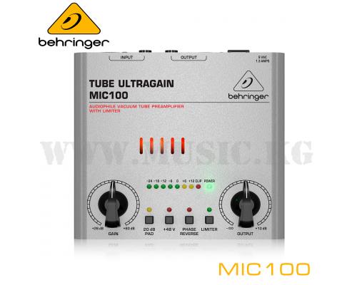 Микрофонный предусилитель Behringer MIC100