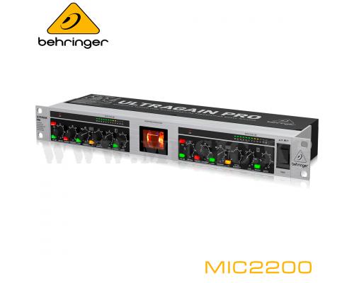 Микрофонный предусилитель Behringer MIC2200