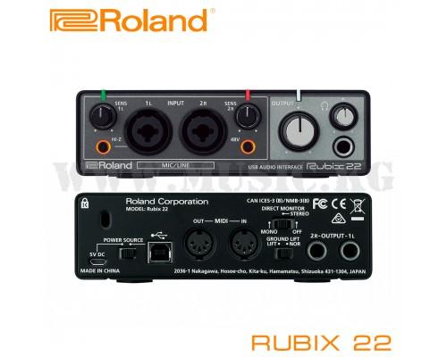 Звуковая карта Roland Rubix22