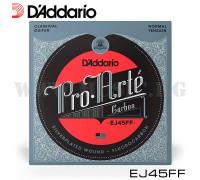 Струны для классической гитары D'Addario EJ45FF