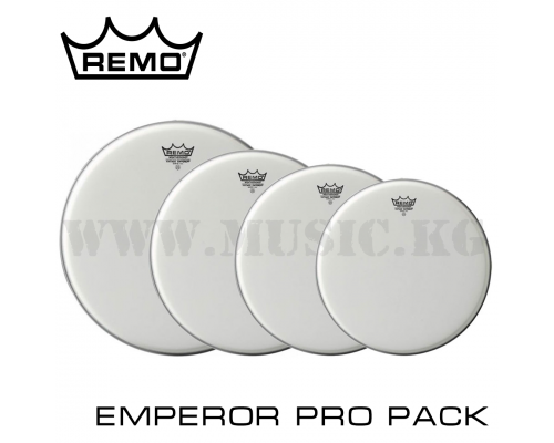 "Набор пластиков Remo 12/13/16+14"" Emperor Clear Pro Pack"