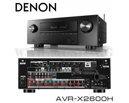 AV-ресивер Denon AVR-X2600H