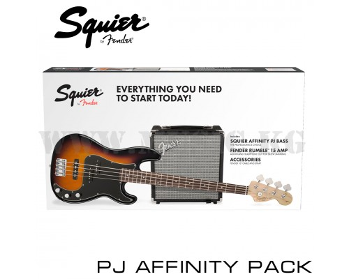 Бас-гитара Squier Affinity Series™ PRECISION BASS® PJ PACK
