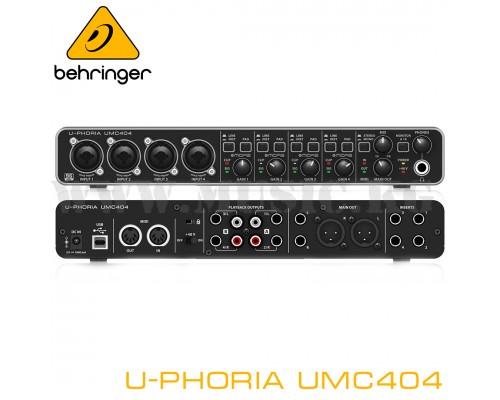 Звуковая карта Behringer U-Phoria UMC404HD