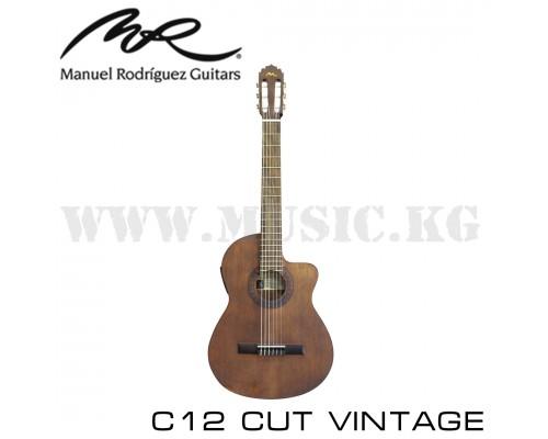MANUEL RODRIGUEZ C12 CUT VINTAGE