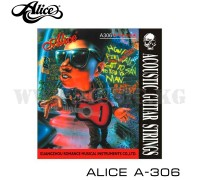 Струны для акустической гитары Alice A-306