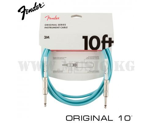 Инструментальный кабель Fender Original 10' Daphne Blue