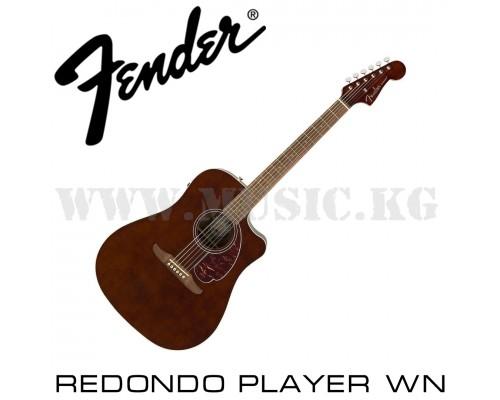 FENDER REDONDO PLAYER WALNUT