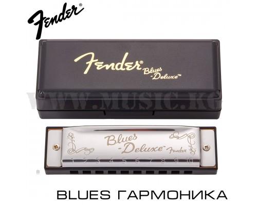 Губная гармошка FENDER Blues Deluxe Harmonica