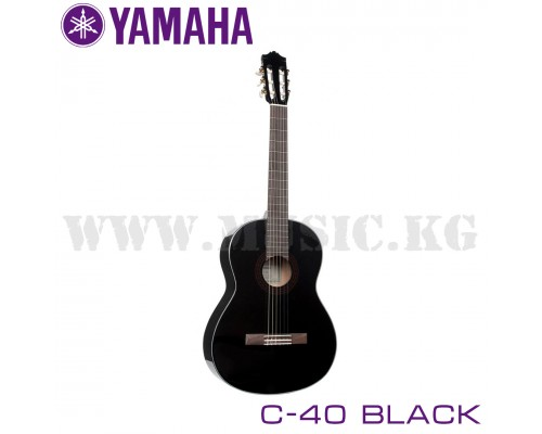 Классическая гитара Yamaha C-40 black