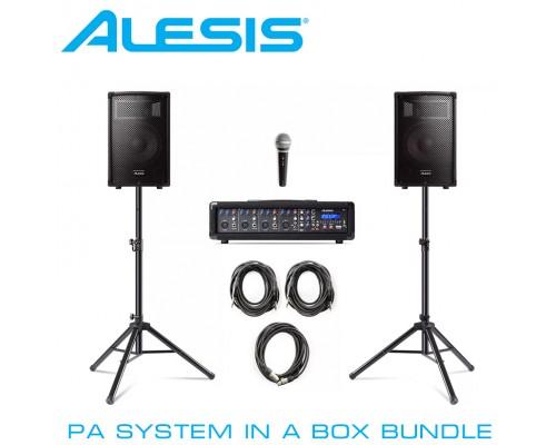 Акустический комплект ALESIS PA SYSTEM IN A BOX BUNDLE