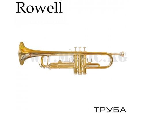 Трехклапанная труба Rowell