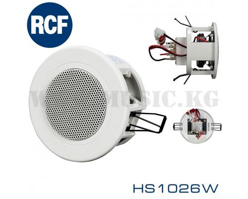 Потолочный громкоговоритель RCF HS1026 W