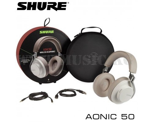 Наушники Shure AONIC 50 SBH2350 WH