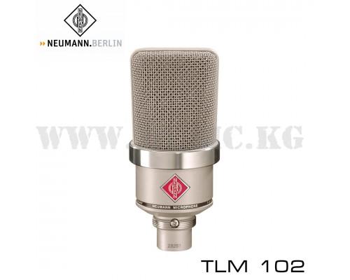 Конденсаторный микрофон Neumann TLM 102 Nickel
